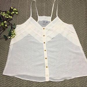 ASOS blouse size 10(U.S.) raceback sheer